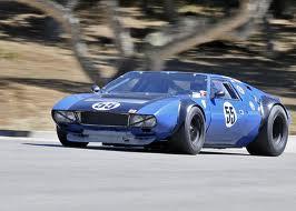 Can Am Car >> De Tomaso Mangusta Race Car